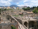 Pompeii and Herculaneum Ruins and Mt.Vesuvius
